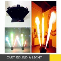 Cheap Stage Effect Machine 3 Heads Stage Flame Effect DMX Spray Fire Machine for sale
