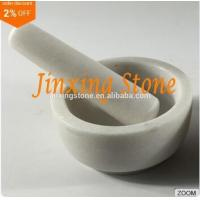 Cheap Hot Sale White Marble Mortar and Pestle Set, Herbs&Spices Grinder, Kitchenware Tool for sale