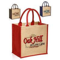 Cheap Stylish Rope Handle Jute Bags for sale