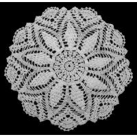 China Hand Crocheted WHITE Tablecloth BDD021 on sale