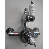 China Twin Exposed Thermostatic Shower Valve Mixer on sale
