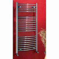 Cheap Curved Chrome Ladder Towel Rails for sale