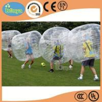 Cheap Hot Selling Human Sized Soccer Bubble Ball/Inflatable Bumper Ball/Hamster Ball for Sale for sale