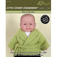 Cheap KNITTING PATTERNS LITTLE LEISURE LOUNGEABOUT Baby Jacket & Belt for sale