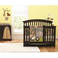 Cheap Made In China Factory Price Indoor Print Quilted Baby Crib Bumper Bedding Set for sale