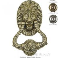 Brass Accents - 6-1/4 Lion Door Knocker