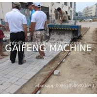 Buy cheap GAIFENG BRAND GF-1.9 Cheap China Small tiger stone paving machine for 1.6m width from wholesalers