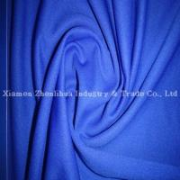 Buy cheap Polyester Double Jersey Mesh Fabrics Purplish Blue from wholesalers