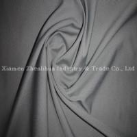 Buy cheap Polyester Lycra Single Jersey Knitting fabrics Gray from wholesalers
