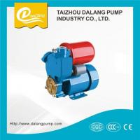 China 0.5HP Automatic Electric Self-priming Peripheral Pump with Pressure Tank on sale