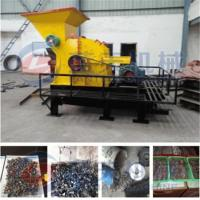 Buy cheap Scrap oil filter crusher machine from wholesalers