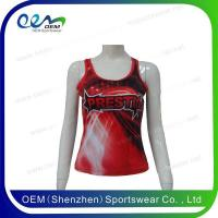 Buy cheap red design tank top from wholesalers