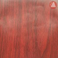 Cheap 1.22*50m Self Adhesive PVC Wood Grain Film A53-A for sale