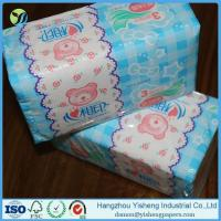 Cheap Custom Printed 100% Wood Pulp Soft Pack Facial Tissue Paper for sale