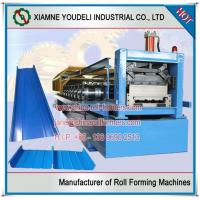 China 65mm Standing Seam Metal Roof Panel Roll Forming Machine on sale