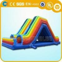 Cheap racing car inflatable slide for sale