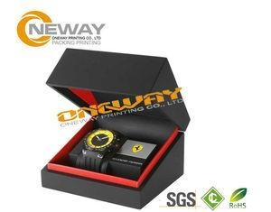 Quality Customized Men'S Style Watch Packaging Box With Hot Stamping Gold Logo wholesale