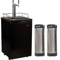 China Kegerators Edgestar Dual Keg Homebrew Kegerator - KC2000TWINHBKG on sale