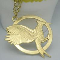 Buy cheap Big European And American Gucci Jewelry New Mockingjay Hunger Games Spark Bird Necklace from wholesalers