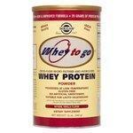 China Solgar Whey To Go Protein Powder Vanilla 12oz 340g on sale