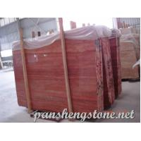 Cheap red travertine Marble Slab wholesale