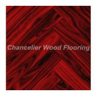 Red Rosewood Fishbone Parquet Flooring