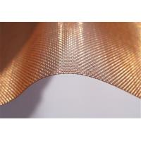 China Architectural Decorative industrial Filter Mesh High Quality Pure Copper Wire Cloth Mesh Screen on sale