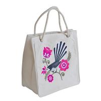 Buy cheap Cotton/Canvas Bags ECV-09 Kiwiana Fantail Shopper from wholesalers