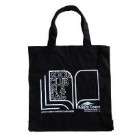 Buy cheap Cotton/Canvas Bags ECV-14 Tote With Gusset Black Bag from wholesalers