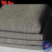 Cheap 2016 TTR double brushed wool fabric with competitive price and high quality for sale