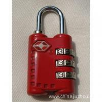 Cheap New Design TSA Combination Travel Luggage Suitcase Lock for sale