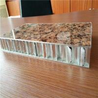 China Stone Look PVDF Coated Aluminium Honeycomb Panels for Exterior Wall Cladding on sale