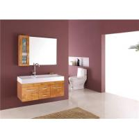 Cheap Double Sink Wood Bathroom Vanity Cabinet Q5521 for sale