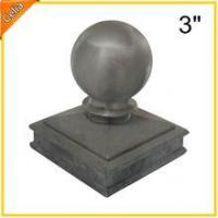 China 3 (inch) aluminium post cap with ball on sale