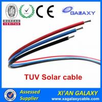 Cheap China Tinned Copper Conductor XLPE Insulation & Sheath TUV Solar Cable 4mm2 for sale