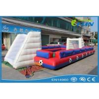 Cheap inflatable human foosball field Product ID:IF-SS003 for sale