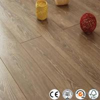 Cheap WPC Vinyl Flooring Distressed 12mm collection V groove laminate flooring for sale