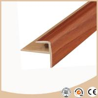 Cheap WPC Vinyl Flooring PVC Stair nosing for sale