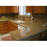 Cheap Sunset Gold Granite Kitchen Top wholesale