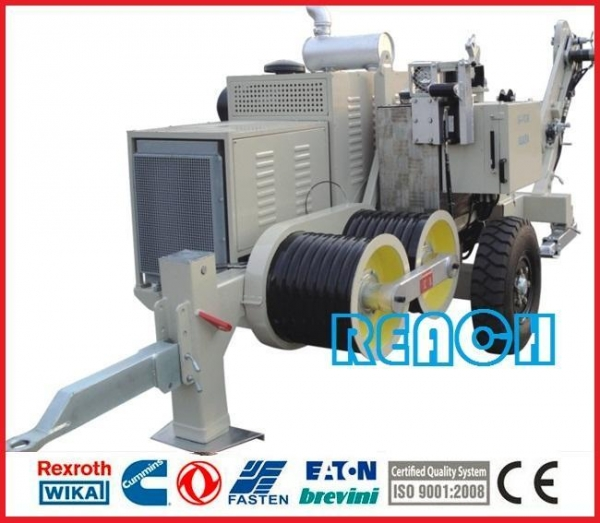 Hydraulic Cable Puller For Sale : High voltage wire hydraulic cable puller of stringing