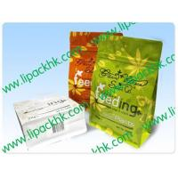 Cheap 1kg powder in Flat Bottom Bag package for sale