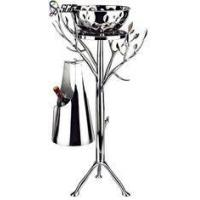 China Tree Shape Stainless Steel Champagne Bucket Stand with Ice Bowl on sale