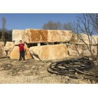 Cheap Budakalasz Travertine Blocks for sale