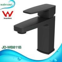 Cheap lavatory faucet brass black plated basin mixer tap JD-WB811B for sale