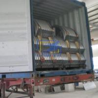 Cheap The corrugated steel culvert pipe in cotaniner ready for ship for sale
