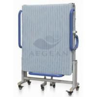 Buy cheap AG-FB001 Foldable Metal Frame Movable Hospital Simple Hospital Bed Height from wholesalers