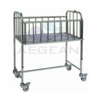 Buy cheap AG-CB005 Hospital Patient Room Metal Frame Trundle Chic Baby Bedding from wholesalers