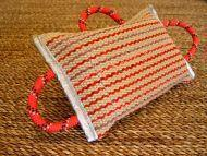 China Bite Sleeve/Covers Dog bite pad made of jute with 3 handles for dog training on sale