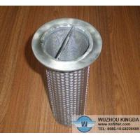 Water strainer Perforated stainless strainer