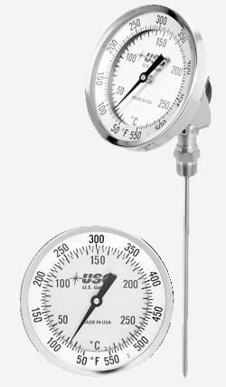 China Model ADJ-Adjustable Bimetallic Thermometer